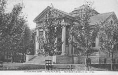 Greensburg, IN Carnegie library