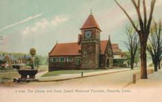 Ansonia Library and Anna Sewell Memorial Fountain