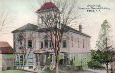 Whitney Hall, Enfield (NH) public library