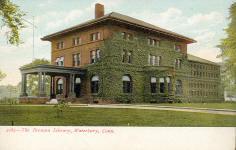 Silas Bronson Library, Waterbury, CT, demolished.