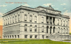 Des Moines, IA public library