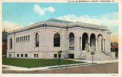 Laughlin Memorial Library, Ambridge, PA