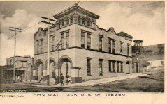 City Hall and Public Library of Ventura, CA
