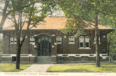 Highland Park, IL Carnegie library. Demolished.