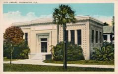 Clearwater, FL Carnegie library, now demolished.