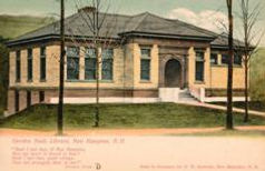 Gordon-Nash Library, New Hampton, NH