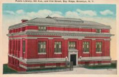 Bay Ridge (South) Carnegie branch library, demolished.