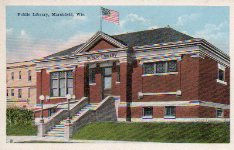 1901 Marshfield, WI library building