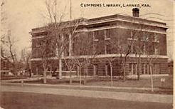 Cummins Memorial Library, Larned, KS