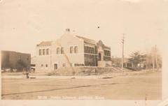 Anthony, KS Carnegie library