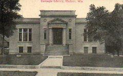 Hudson, WI Carnegie library