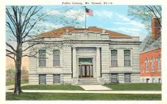 Mt. Carmel, IL Carnegie library