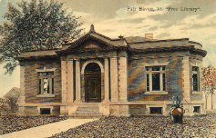 Fairhave, VT Carnegie library