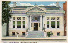Herman Boswell Memorial Public Library, Carlisle, PA