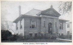 Farmington, IL Carnegie library