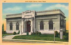 Paris, TX public library