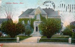 Newton, MA public library