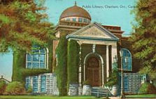 Chatham, Ontario Carnegie library