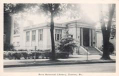 Ross Memorial Library, Clarion, PA