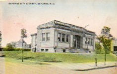 Bayonne, NJ Carnegie library