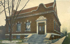 Taylorville, IL Carnegie library