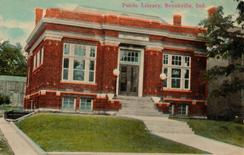 Brookville, Indiana's Carnegie library