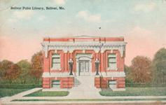 Yes, the caption really does say 'Bolivar Pubic Library, Bolivar, Mo.'
