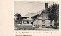 The John Tyler Library Building, Sakem, NJ