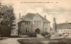 Clay Library, E. Jaffrey, NH