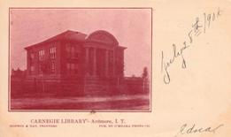 Ardmore, IT Carnegie library in its 2 storey form.