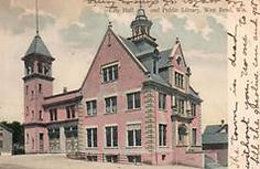 West Bend, WI City Hall, now public library