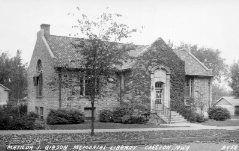 Matilda J. Gibson Memorial Library, of Creston, IA