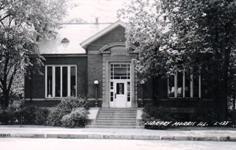 Morris, IL Carnegie library