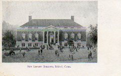 Bristol, CT public library