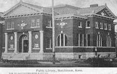Hutchinson, KS Carnegie library