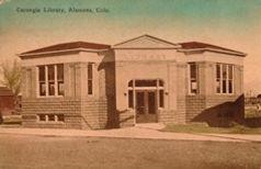 Alamosa, CO Carnegie library, now demolished.