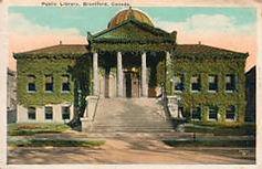 Brantford, Ontario Carnegie library