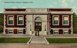 Delphos, OH Carnegie library