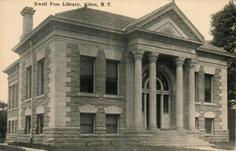 Ewell Free Library, Alden, NY