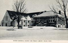 Edison Memorial Church and Public Library, Milan, Ohio