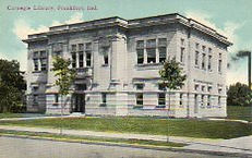 Frankfort, IN Carnegie library