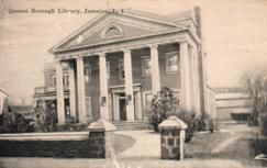Jamaica, Queens Borough, Long Island public library branch