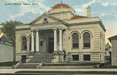 Galion, OH postcard image provided by the Galion Public Library.