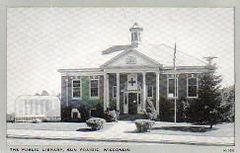 Sun Prairie, WI library, ca. 1943