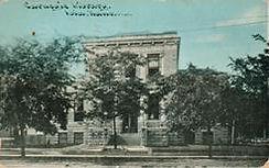 Iola, KS Carnegie library