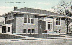 Along with WIlmette, IL, one of the demolished Seven Sisters Prairie Carnegie libraries.