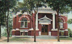 Delphi, IN Carnegie library