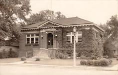 RPPC of the Blair, NE Carnegie library building.