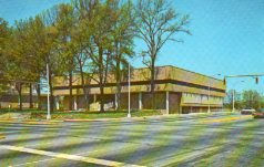 Greenville County Public Library, mid-century design.