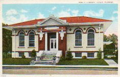 Ocala, FL Carnegie library